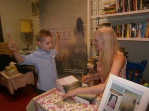 Anna's Book Signing