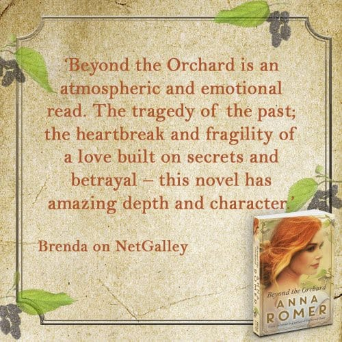 Review Anna Romer - Beyond the Orchard